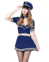 Costume de capitaine fifi love