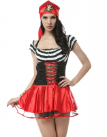 Costume de pirate au trésor sexy