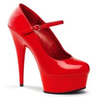 Delight-687 de Pleaser rouge